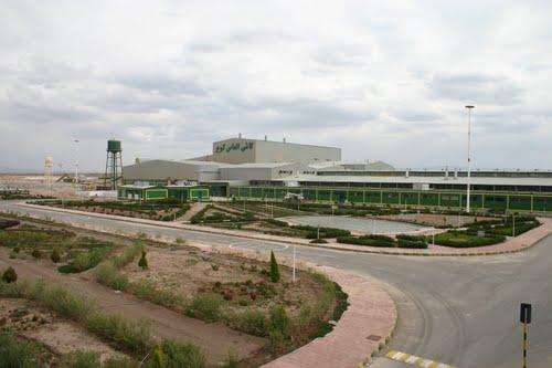 کارخانه کاشی الماس کویر؛ رفسنجان - کیلومتر ۱۰ جاده کرمان