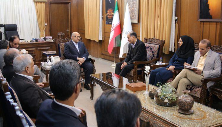 دیدار رییس سازمان فنی و حرفه ای کشور با استاندار کرمان