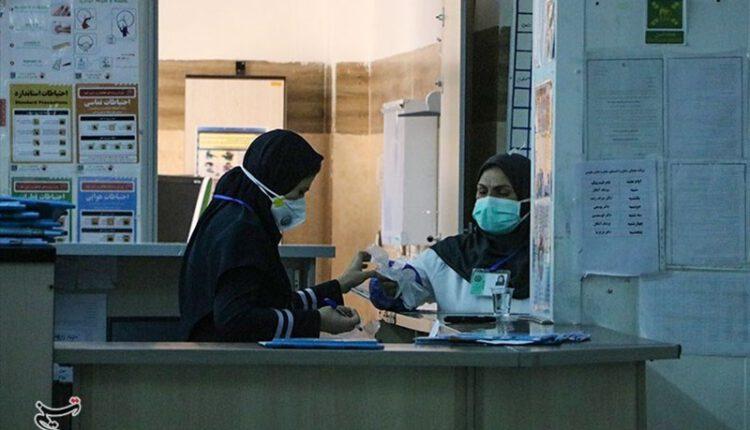 ابتلای کادر درمانی استان به کرونا