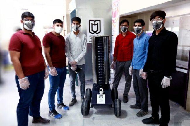 دانشجوان مخترع دانشگاه جیرفت