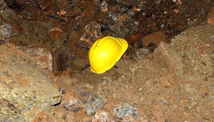 ریزش تونل معدن منوجان
