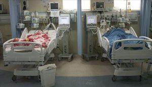 بیماران کرونایی در رفسنجان و انار