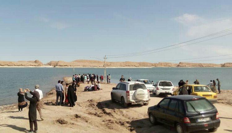 دریاچه بیابان لوت شهداد