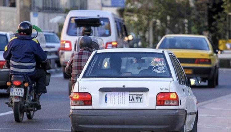 طرح توقیف خودروهای فاقد پلاک