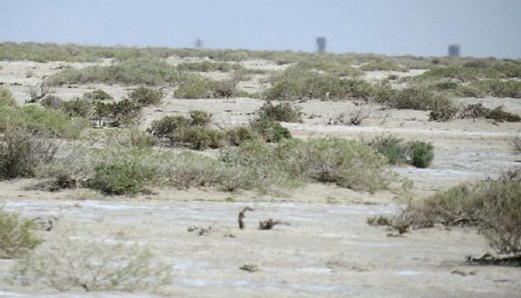 اراضی غبارخیز در استان