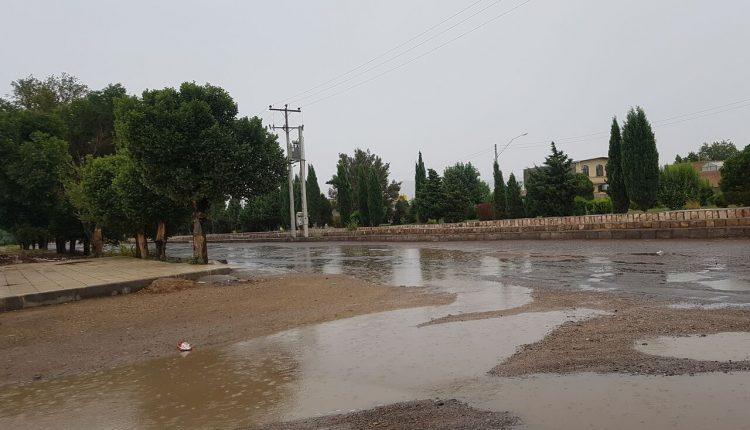 جاری شدن سیلاب